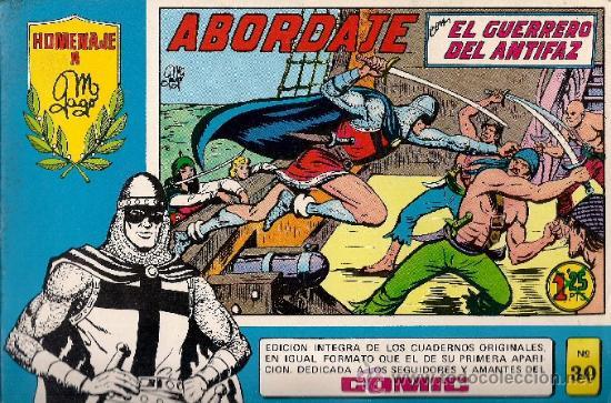 COMIC EL GUERRERO DEL ANTIFAZ – HOMENAJE A GAGO - Nº 30 (Tebeos y Comics - Valenciana - Guerrero del Antifaz)