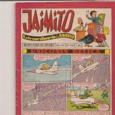 Tebeos: JAIMITO EXTRAORDINARIO DE NAVIDAD PARA EL 1962. Lote 22492236