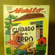 Tebeos: REVISTA JUVENIL, MARILO, Nº 162, EDITORIAL VALENCIANA. Lote 22539458