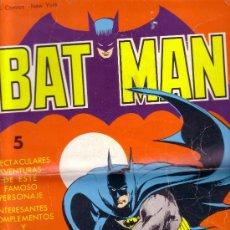 Tebeos: BATMAN - EDIT. VALENCIANA, 1976 - EJEMPLAR MUY RARO (BAT MAN - BATMAN) LE FALTA LA CONTRA PORTADA. Lote 26694993