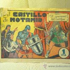 Tebeos: ANTIGUO COMIC, EL GUERRERO DEL ANTIFAZ, Nº 22 N, EDITORIAL VALENCIANA, EN EL CASTILLO DE MOTAMID. Lote 22682851