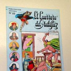 Tebeos: EL GUERRERO DEL ANTIFAZ N 23, 3ª ÉPOCA. MANUEL GAGO. ORO MALDITO, BERMEJO. DICK TURPIN, DE LA FUENTE. Lote 26449428