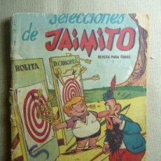 Tebeos: COMIC, EDITORIAL VALENCIANA, ORIGINAL, JAIMITO, BOLITA, D. CAMORRA, Nº 3. Lote 22804968