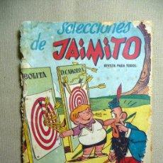 Tebeos: COMIC, EDITORIAL VALENCIANA, ORIGINAL, JAIMITO, BOLITA, D. CAMORRA, Nº 3. Lote 22804982