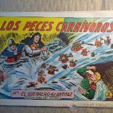 Tebeos: COMIC, ORIGINAL, EL GUERRERO DEL ANTIFAZ, Nº 532, EDITORIAL VALENCIANA, 1958. Lote 22806196