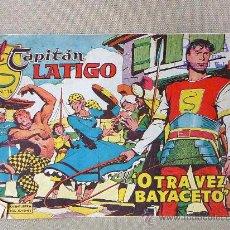 Tebeos: COMIC, EL CAPITAN LATIGO, OTRA VEZ BAYACETO, Nº 15, EDITORIAL VALENCIANA, ORIGINAL, 1962. Lote 22849458