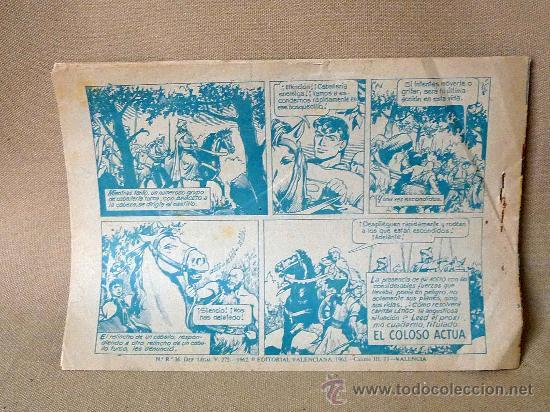 Tebeos: COMIC, EL CAPITAN LATIGO, OTRA VEZ BAYACETO, Nº 15, EDITORIAL VALENCIANA, ORIGINAL, 1962 - Foto 2 - 22849458