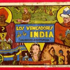Tebeos: SELECCION AVENTURERA , VALENCIANA , LOS VENGADORES DE LA INDIA , ORIGINAL. Lote 22858442
