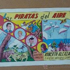 Tebeos: ROBERTO ALCAZAR Y PEDRIN. 1981. ED VALENCIANA. NUM 1. LOS PIRATAS DEL AIRE. . Lote 22952061