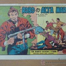 Tebeos: ROBERTO ALCAZAR Y PEDRIN. 1958. ED VALENCIANA. NUM 487. ROBO EN ALTA MAR. Lote 22952090