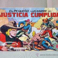 Tebeos: COMIC, EL PEQUEÑO LUCHADOR, JUSTICIA CUMPLIDA, Nº 35, EDITORIAL VALENCIANA. Lote 22955351