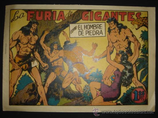 COMIC Nº 3 EL HOMBRE DE PIEDRA, EDITORIAL VALENCIANA, ORIGINAL DE LA ÉPOCA (Tebeos y Comics - Valenciana - Purk, el Hombre de Piedra)