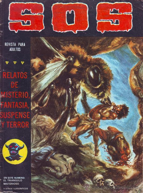 SOS Nº 23 SEGUNDA EPOCA 1981 EDITORIAL VALENCIANA 36 PAGINAS DE TERROR MISTERIO SUSPENSE (Tebeos y Comics - Valenciana - S.O.S)