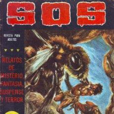 Tebeos: SOS Nº 23 SEGUNDA EPOCA 1981 EDITORIAL VALENCIANA 36 PAGINAS DE TERROR MISTERIO SUSPENSE. Lote 23266560