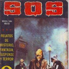 Tebeos: SOS Nº 8 SEGUNDA EPOCA 1981 EDITORIAL VALENCIANA 36 PAGINAS DE TERROR MISTERIO SUSPENSE. Lote 23266605