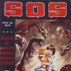 Tebeos: SOS Nº 27 SEGUNDA EPOCA 1981 EDITORIAL VALENCIANA 36 PAGINAS DE TERROR MISTERIO SUSPENSE. Lote 27580871