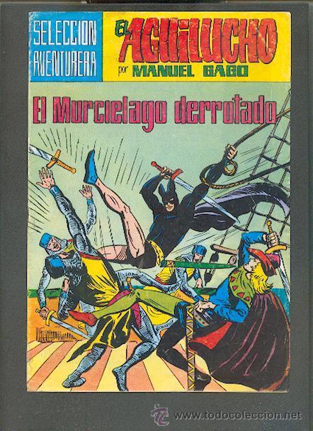 SELECCIÓN AVENTURERA, EL AGUILUCHO Nº 38, EDITORIAL VALENCIANA, A COLOR (Tebeos y Comics - Valenciana - Selección Aventurera)