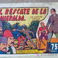 Tebeos: RARO Y DIFICIL COMIC, ORIGINAL, ROBERTO ALCAZAR, EL RESCATE DE LA ESMERALDA, 75 CTS, Nº 31. Lote 23348838