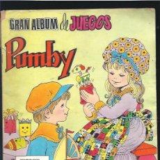 Tebeos: PUMBY GRAN ALBUM DE JUEGOS 1. Lote 23536969