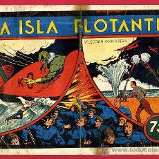 BDs: LA ISLA FLOTANTE ,SELECCION AVENTURERA , VER FOTOS ADICIONALES , ORIGINAL . A. Lote 23573861