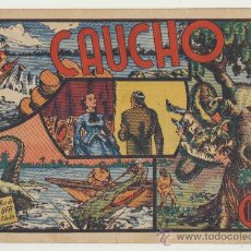 Tebeos: CAUCHO. SELECCIÓN AVENTURERA. VALENCIANA 1940.. Lote 23665268