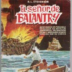 Tebeos: SELECCIÓN DE AVENTURAS ILUSTRADAS Nº 4. EL SEÑOR DE BALANTRY. VALENCIANA 1959.. Lote 23753232