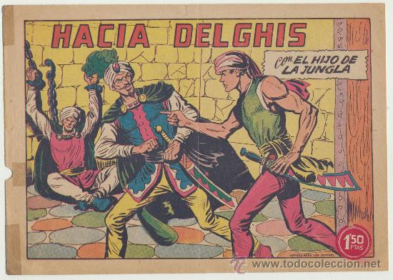 EL HIJO DE LA JUNGLA Nº 31. VALENCIANA 1956. (Tebeos y Comics - Valenciana - Hijo de la Jungla)