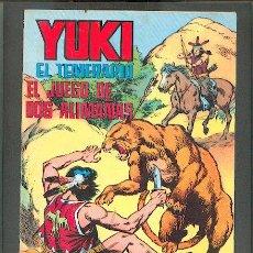 Tebeos: YUKI EL TEMERARIO Nº 9, EDITORIAL VALENCIANA COLOR. Lote 23837932