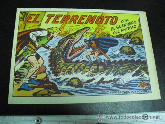 EL GUERRERO DEL ANTIFAZ Nº 569 (Tebeos y Comics - Valenciana - Guerrero del Antifaz)