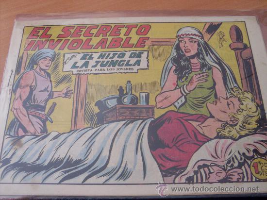 EL HIJO DE LA JUNGLA Nº 10 ( ORIGINAL VALENCIANA ) (COIM16) (Tebeos y Comics - Valenciana - Hijo de la Jungla)