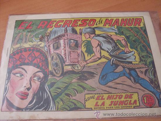 EL HIJO DE LA JUNGLA Nº 11 ( ORIGINAL VALENCIANA ) (COIM16) (Tebeos y Comics - Valenciana - Hijo de la Jungla)