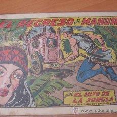 Tebeos: EL HIJO DE LA JUNGLA Nº 11 ( ORIGINAL VALENCIANA ) (COIM16). Lote 23986121