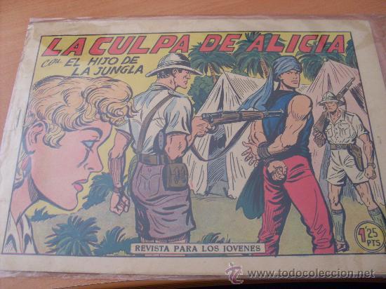 EL HIJO DE LA JUNGLA Nº 13 ( ORIGINAL VALENCIANA ) (COIM16) (Tebeos y Comics - Valenciana - Hijo de la Jungla)
