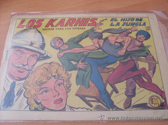 EL HIJO DE LA JUNGLA Nº 14 ( ORIGINAL VALENCIANA ) (COIM16) (Tebeos y Comics - Valenciana - Hijo de la Jungla)