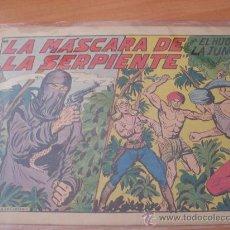 Tebeos: EL HIJO DE LA JUNGLA Nº 21 ( ORIGINAL VALENCIANA ) (COIM16). Lote 23988503