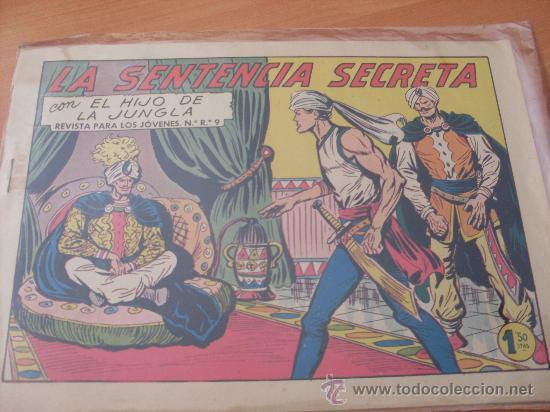 EL HIJO DE LA JUNGLA Nº 34 ( ORIGINAL VALENCIANA ) (COIM16) (Tebeos y Comics - Valenciana - Hijo de la Jungla)