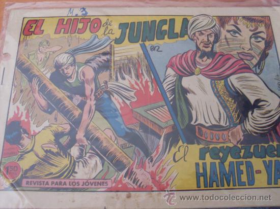EL HIJO DE LA JUNGLA Nº 79 ( ORIGINAL VALENCIANA ) (COIM16) (Tebeos y Comics - Valenciana - Hijo de la Jungla)