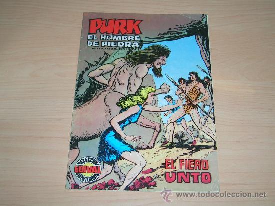 PURK EL HOMBRE DE PIEDRA # 45 - EDIVAL (Tebeos y Comics - Valenciana - Purk, el Hombre de Piedra)
