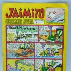 Tebeos: JAIMITO Nº 1152 EDITORIAL VALENCIANA 1971 PORTADA MIGUELÍN Y EL TRENECITO. Lote 24111138