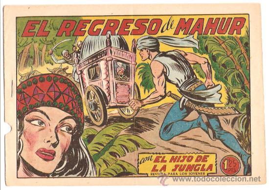 EL HIJO DE LA JUNGLA Nº 11 -- ORIGINAL VALENCIANA - SIN ABRIR (Tebeos y Comics - Valenciana - Hijo de la Jungla)