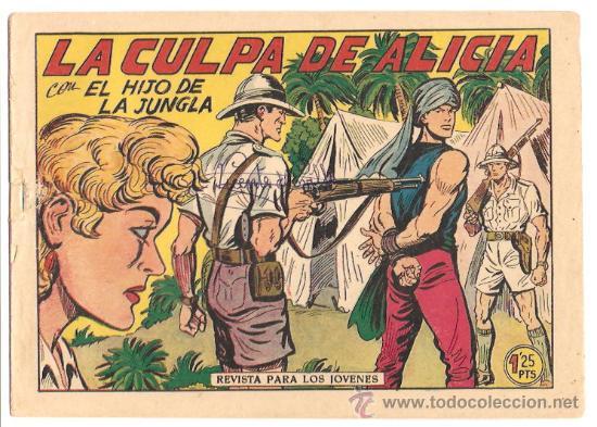 EL HIJO DE LA JUNGLA Nº 13 -- ORIGINAL (Tebeos y Comics - Valenciana - Hijo de la Jungla)
