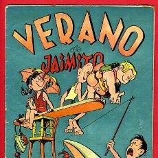 Tebeos: JAIMITO , EXTRAORDINARIO VERANO JAIMITO , ORIGINAL , ANTIGUO , B. Lote 24338541