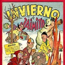 Tebeos: JAIMITO , EXTRAORDINARIO INVIERNO JAIMITO , ORIGINAL , ANTIGUO , B. Lote 24338550