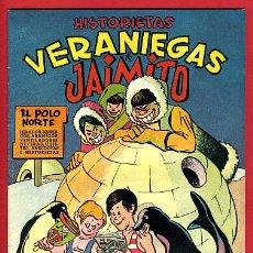 Tebeos: JAIMITO , EXTRAORDINARIO VERANO , HITORIETAS VERANIEGAS , ORIGINAL , ANTIGUO , B. Lote 24338625