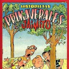 Tebeos: JAIMITO , EXTRAORDINARIO PRIMAVERA , HITORIETAS PRIMAVERALES , ORIGINAL , ANTIGUO , B. Lote 24338645