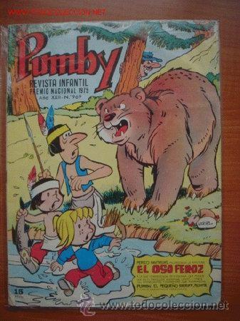 LOTE DE 2 TEBEOS DE LA REVISTA INFANTIL PUMBY (Tebeos y Comics - Valenciana - Pumby)