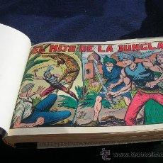 Tebeos: EL HIJO DE LA JUNGLA COMPLETA ORIGINAL Y BIEN ENCUADERNADA VER FOTOS. Lote 24436752