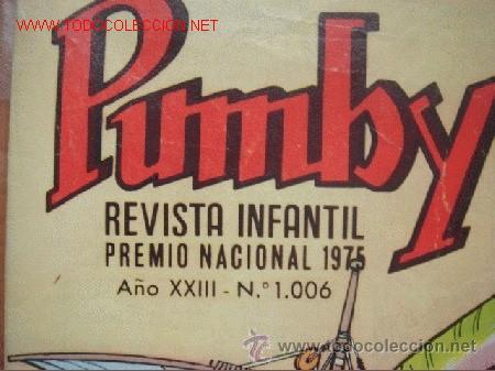 Tebeos: Lote de 2 tebeos de la revista infantil PUMBY - Foto 4 - 27525800