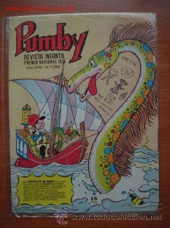 Tebeos: Lote de 2 tebeos de la revista infantil PUMBY - Foto 2 - 27525800