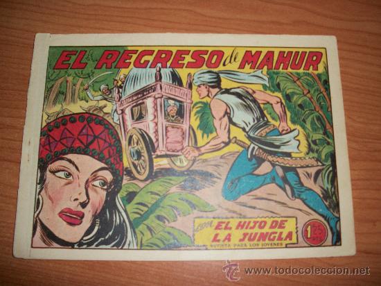 EL HIJO DE LA JUNGLA Nº 11 ORIGINAL EDITORIAL VALENCIANA (Tebeos y Comics - Valenciana - Hijo de la Jungla)